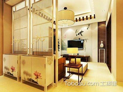 中式玄关鞋柜效果图,演绎浪漫的中式古典风情!