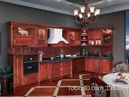 中式实木橱柜效果图,让你发现厨房的最佳归宿