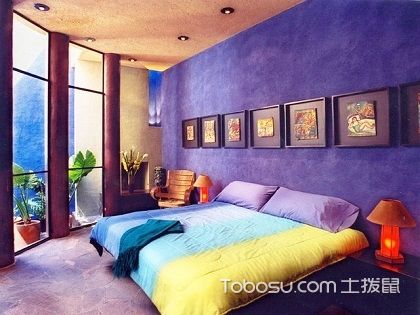 卧室吊顶设计图,不一样的视觉效果