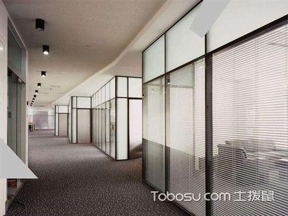 办公室玻璃隔断墙节点是什么?玻璃隔墙怎么安装?