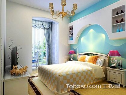 85平米房子装修效果图,清新的色调和这个季节更配!