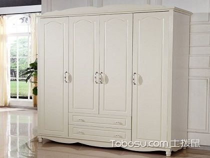 白色实木衣柜图片,感受不一样的家居氛围