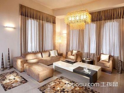 客厅窗帘什么颜色好,暖色调最受欢迎