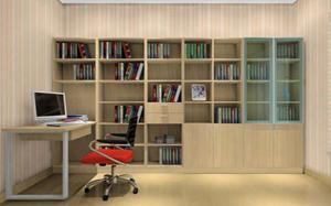 【玻璃书柜】玻璃书柜可以对床吗,玻璃书柜门,安装方法,图片
