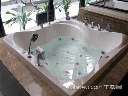 按摩浴缸与普通浴缸的区别,功能上大有不同!