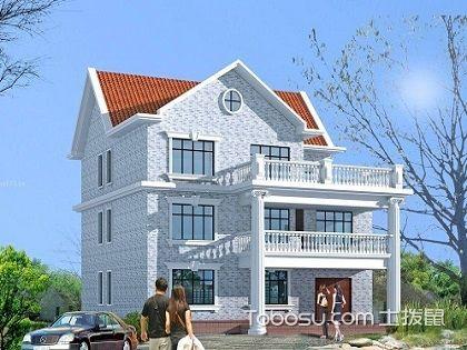 别墅外墙瓷砖,靓丽别墅全靠瓷砖来装配