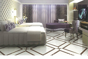 【卧室瓷砖】卧室瓷砖和复合木地板,卧室瓷砖怎么选,三大品牌,装修效果图