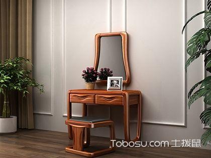 实木梳妆台图片欣赏,卧室最美一角在这儿