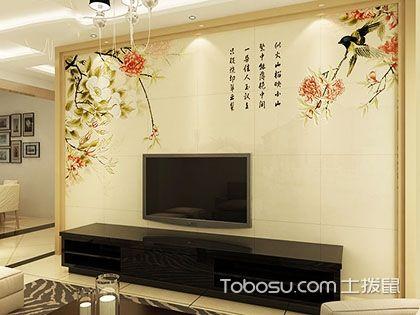 瓷砖电视背景墙图片欣赏,想不到效果竟如此大气!