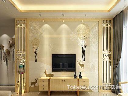 现代瓷砖电视墙效果图推荐:简约而不简单