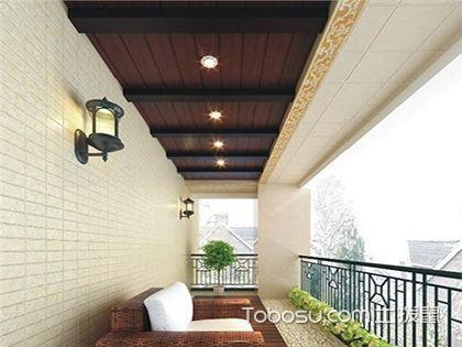 从阳台生态木吊顶效果图,获悉其优点