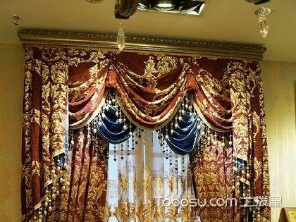 歐式窗簾風格,精致細節點亮整個家裝