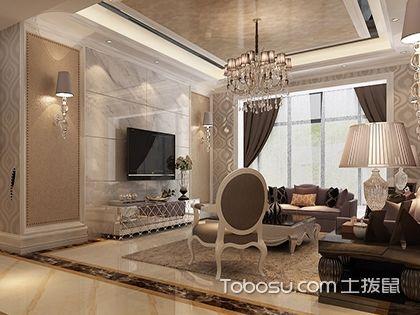 欧式客厅电视墙效果图,让客厅简单?#26893;?#22833;品味!