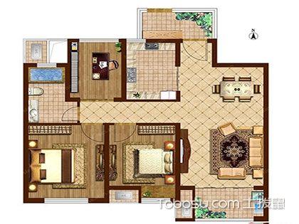 95平米三室一厅户型图解析,看小空间如何巧妙布局!