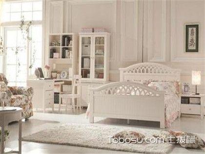 韩式风格家具特点,颜色上以象牙白为主