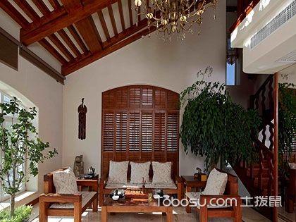 450平米东南亚风格别墅装修,不出门也能逛遍东南亚