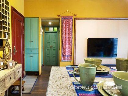 45平米东南亚风格一居室装修效果图,竟带有浓郁的咖喱味!