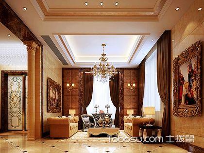 复式天花吊顶装修效果图,让家居更闪亮的设计!
