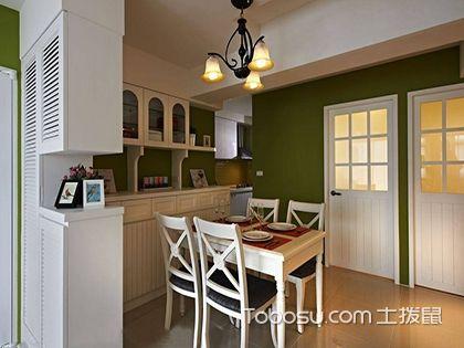 65平小户型二居室装修,质朴田园小窝效果图