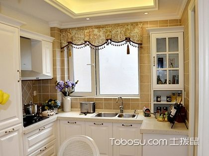 欧式厨房装修效果图欣赏,过优雅生活