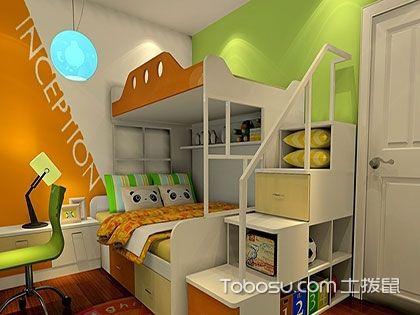 男儿童房选什么颜色好?真实装修效果图告诉你!
