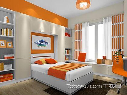 8平米儿童房装修,空间色彩的完美搭配
