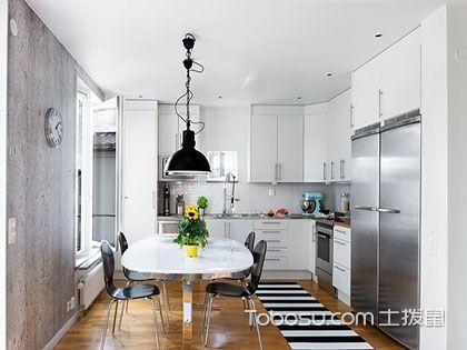 三张图带你感受L型厨房设计的特点