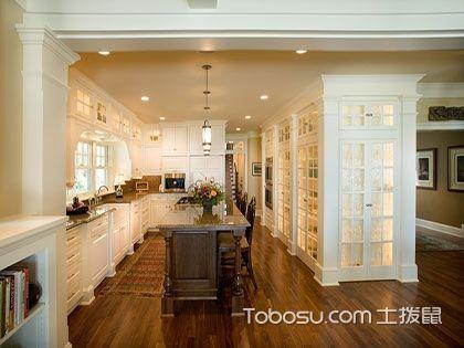 L型厨房设计效果图——你家厨房装扮成这样肯定好看