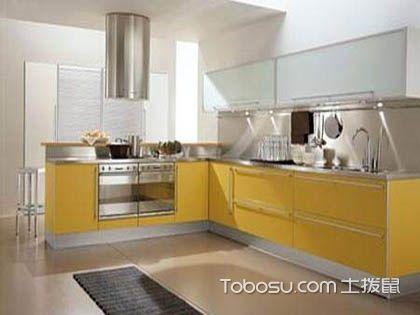 L型厨房收纳要点,教你厨房收纳技巧