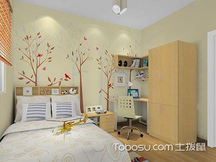 儿童房简装修实例,简单布置,开心生活