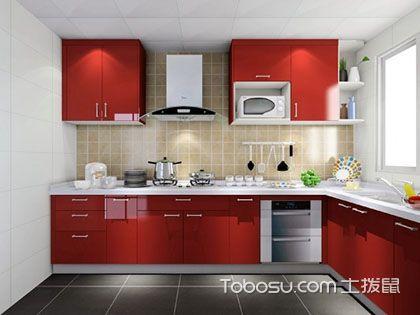 L型厨房布局设计效果图,照着装修更合理!