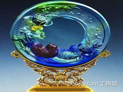 琉璃工藝飾品如何選購?色澤通透才最好