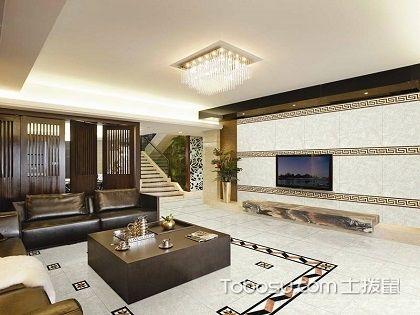 客厅走廊波打线效果图,打造精美奢华空间