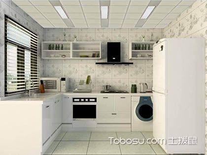 一字型厨房地砖怎样铺贴,地砖铺贴要注意
