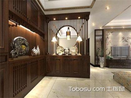 中式玄关家具如何选购?需注重其实用性