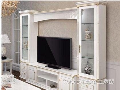 挂墙电视柜款式效果图,感受家居装修的立体感