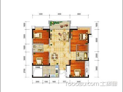 125平米户型图赏析,选对户型家居生活更完美!