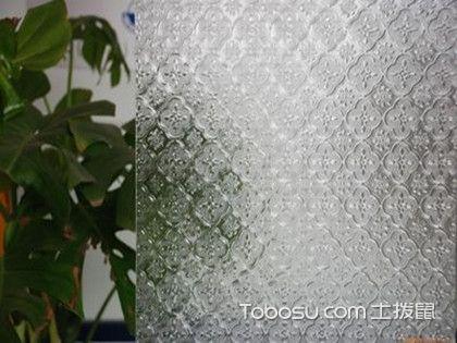 压花玻璃的应用,安装时要注意什么?