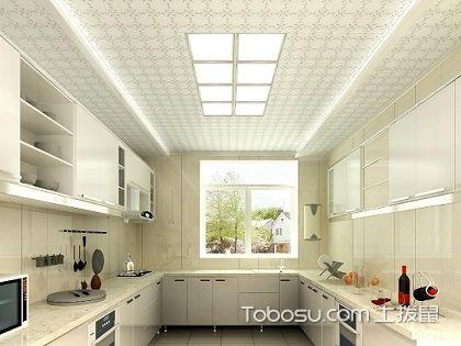 厨房吊顶用什么颜色好?装饰温馨厨房