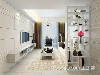欧式风格客厅隔断柜效果图赏析:美貌又实用