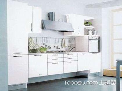 一字型厨房橱柜效果图,小户型厨房照样时尚!