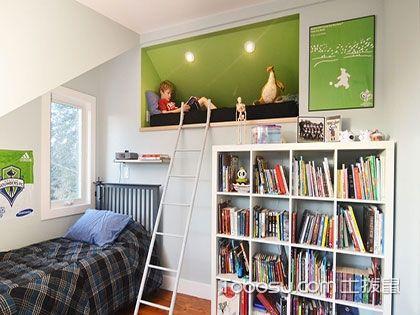 看过来,儿童房兼书房装修远比你想象中的简单
