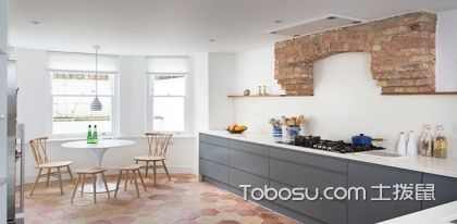 五张图带你感受一字型厨房布局特点