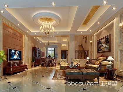 欧式风格客厅的特点解析,让生活过的更精致一些!
