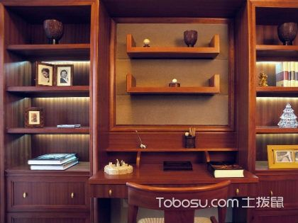 中式书柜的特点,让你的书房古色古香