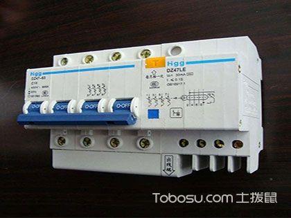 漏电保护开关怎么接线?它的工作原理你也要熟知!