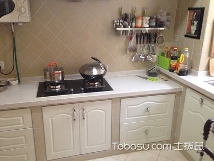 砖砌橱柜设计图,感受不一样的厨房风格