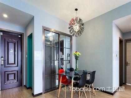 简约二居室装修效果图,78平米清爽宜居之家!