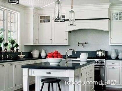 厨房天花板吊顶图,兼具美观与使用的家装设计