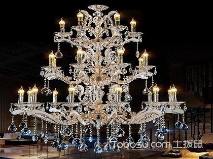 水晶吊灯,高端大气上档次的装饰品